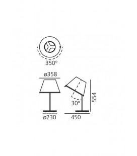 Choose Fluo lampada da tavolo Artemide