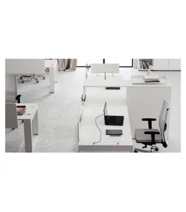 Las Arredo Ufficio Catalogo.Scrivania Logic Las Mobili