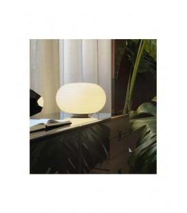 Bianca lampada da tavolo Fontana Arte